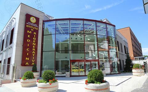 """IRCCS """"Casa Sollievo della Sofferenza"""" di San Giovanni Rotondo (Fg). ISBReMIT, il nuovo Istituto di Medicina Rigenerativa."""
