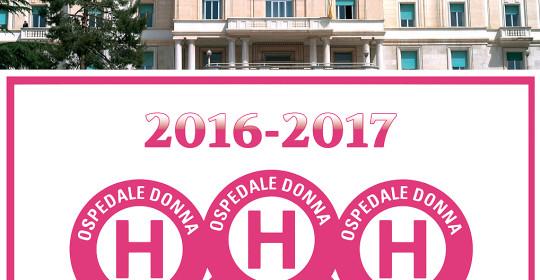 """IRCCS """"Casa Sollievo della Sofferenza"""" ospedale a misura di donna, confermati 3 bollini rosa."""