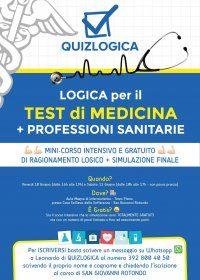 """IRCCS """"Casa Sollievo della Sofferenza"""" di San Giovanni Rotondo (Fg). Test di ingresso medicina e professioni sanitarie: 10 e 11 giugno minicorso di ragionamento logico e simulazione finale."""