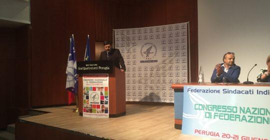 Congresso Nazionale di Federazione FSI: Adamo Bonazzi confermato Segretario Generale dai 308 delegati rappresentanti 15.400 associati su 20.509.