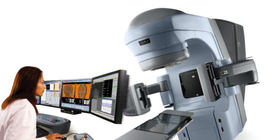 """IRCCS """"Casa Sollievo della Sofferenza"""" di San Giovanni Rotondo (Fg): acquistato Truebeam STx, l'acceleratore per radioterapia che consente trattamenti mirati e concentrati."""