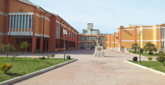 """Il Ministro Lorenzin in visita al presidio di riabilitazione """"Gli angeli di Padre Pio"""" di San Giovanni Rotondo (Fg) il 12 novembre 2016."""