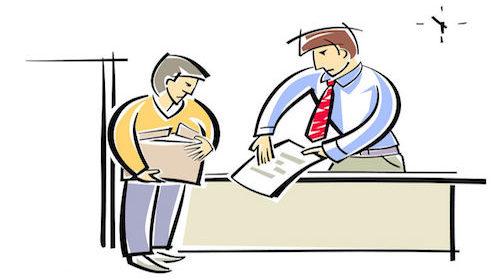 Discussione e litigio col capo di lavoro: che rischio?