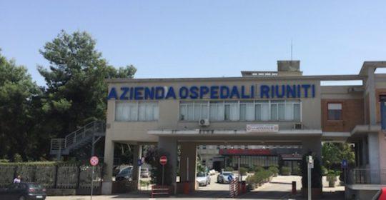 """Fabbisogno di personale triennio 2018 – 2020 Azienda Ospedaliero – Universitaria """"Ospedali Riuniti"""" di Foggia."""