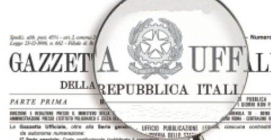 """""""Riordino della disciplina degli Ordini delle Professioni Sanitarie"""" in Gazzetta Ufficiale serie generale n. 25 del 31.01.2018."""