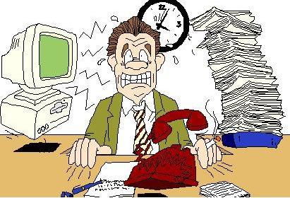 Cassazione: lo stress da troppo lavoro va indennizzato.