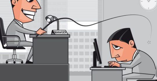 Il datore di lavoro deve evitare situazioni lavorative conflittuali di stress forzato.