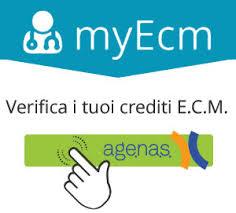 Per verificare i tuoi crediti formativi ECM: Co.Ge.A.P.S. ed Age.na.s.