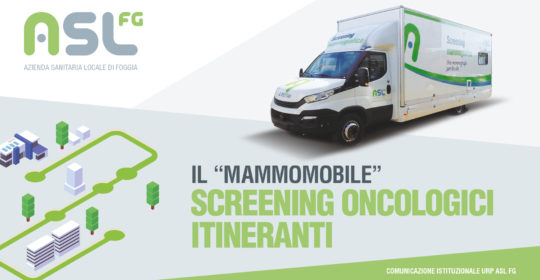 """""""Il Mammomobile"""" a Serracapriola (Fg), Piazza Vittorio Emanuele III' – 26 Novembre 2019."""