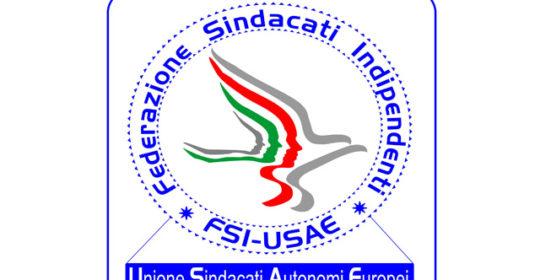 """Sindacato FSI – USAE: """"Richiesta di finanziamento straordinario regionale destinato a specifica indennità di disagio""""."""