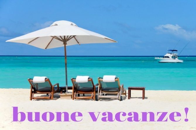 Sospensione servizio di newsletter. Buone Vacanze!